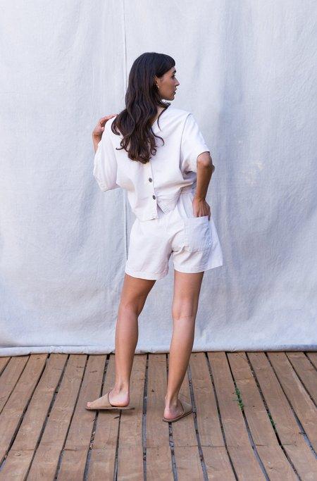 Gracemade Rhoda Shorts - Cream