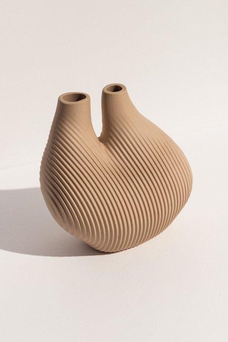 Hay W&S Chamber Vase - Soft Beige