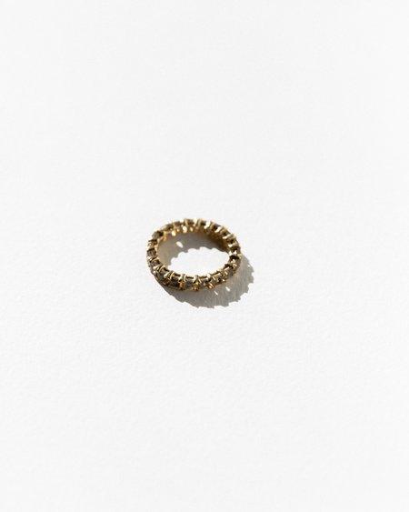 Jasmin Sparrow Wave Smokey Quartz Ring