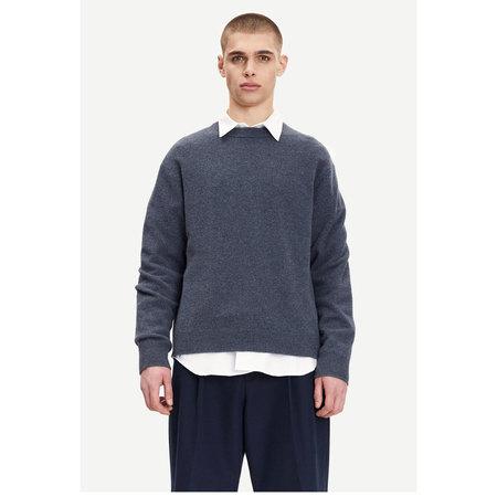 Samsoe Samsoe viktor crew neck 12758 sweater - India Ink