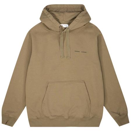 Samsoe Samsoe norsbro hoodie - Covert Green