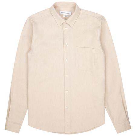 Samsoe Samsoe liam nf  7383 shirt - Humus