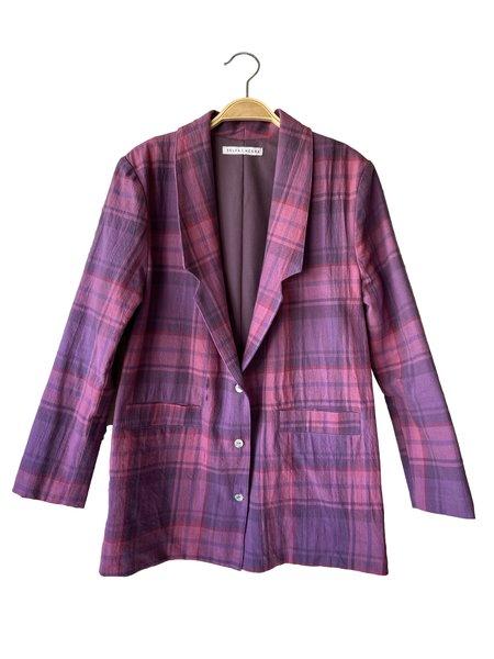 SELVA / NEGRA Flo Jacket - Magenta Plaid