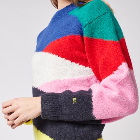 Kids Bobo Choses  Print Knit Sweater - Multicolor