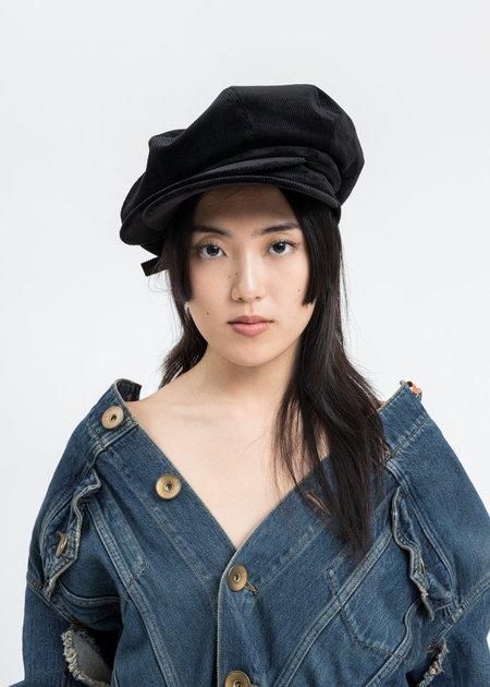 Mihara Yasuhiro Double Casquette - Black