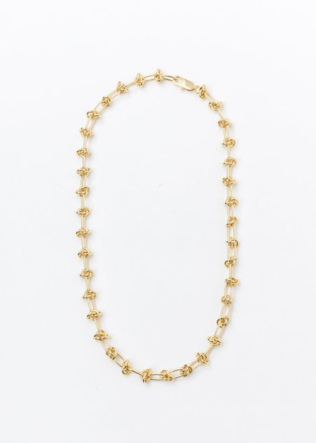DEPARTMENT Lace Chain Necklace - Gold