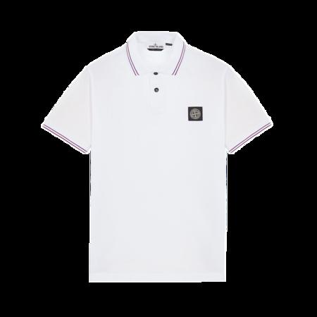 Stone Island Men MO751522S18-V4001 Polo Shirt - White