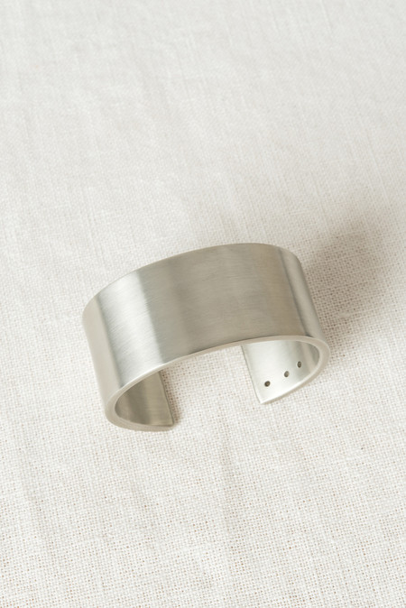 Marmol Radziner Cuff Wide In White Brass