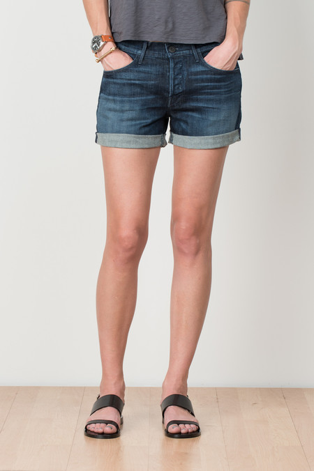3x1 NYC Denim Boyfriend Short In Cyrus