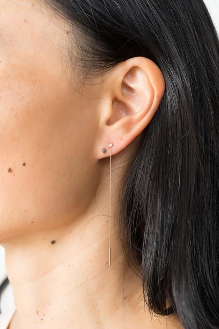 Still House Diamond Vesa Earring In 14K Gold