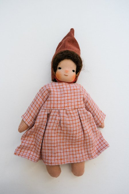kids Lamb Ears and Roots Gnome Doll - Lilac