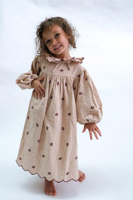 Bebe Organic Olivia Dress - Dawn Rose