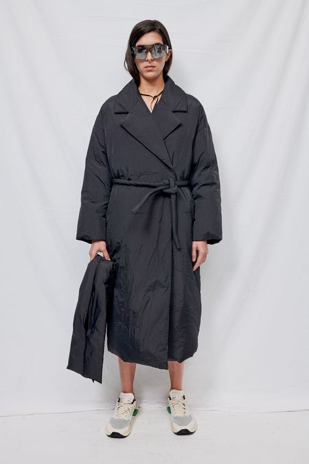 Blossom H Company Goose Padding Coat - black