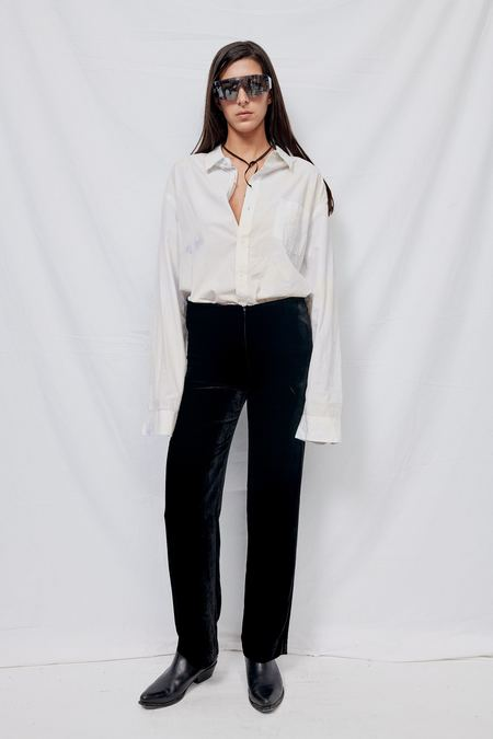 Gabriela Coll Garments NO. 95 Velvet Trousers