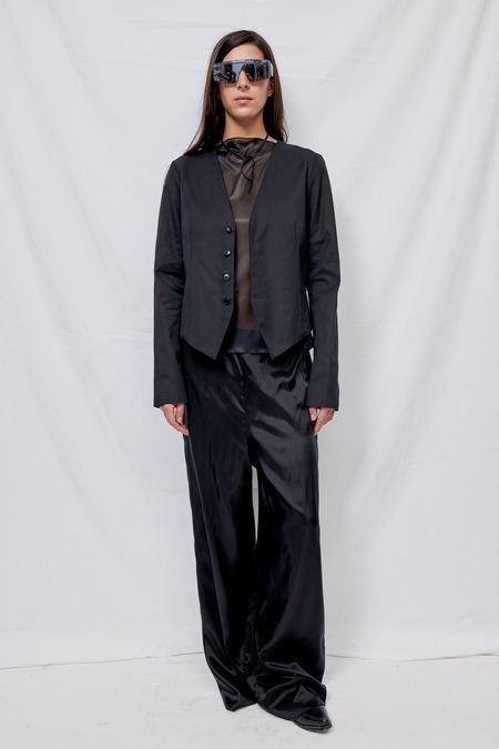 Gabriela Coll Garments NO.81 Gabardine Vest Jacket