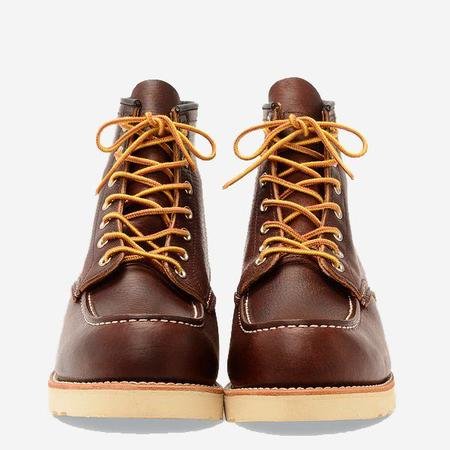 Red Wing Shoes Classic Moc 6-Inch Leather Boots - Briar Oil-Slick