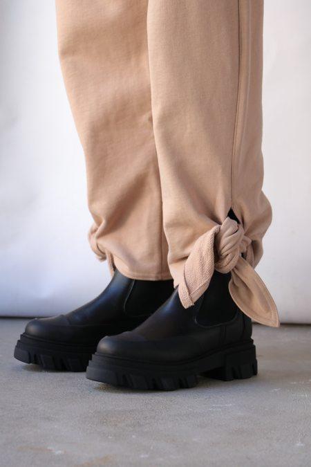Tibi Side Tie Sweatpants - Toffee