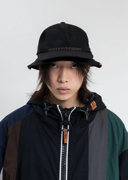 Mihara Yasuhiro Double Cap Hat - Black