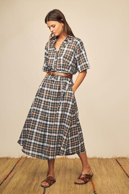 Rufa Check Dress-Prints