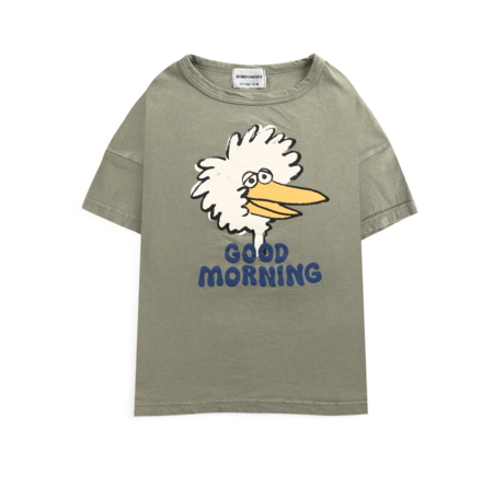 kids Bobo Choses Birdie T-Shirt - Dark Green