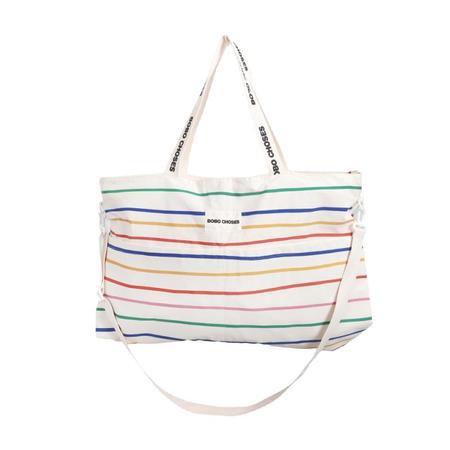 kids bobo choses stripes baby changing bag - Multi