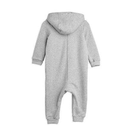 kids mini rodini peace dove baby onesie - grey melange