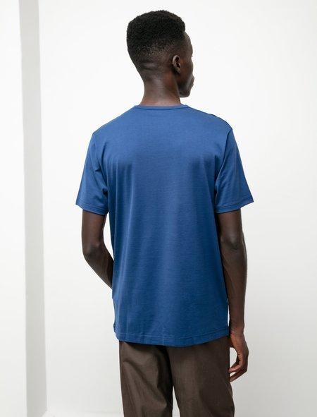 Sunspel SS Crew Neck T-Shirt - Prussian Blue