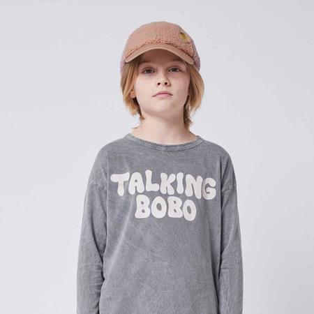 kids Bobo Choses Sheepskin Colour Block Hat - Multicolour