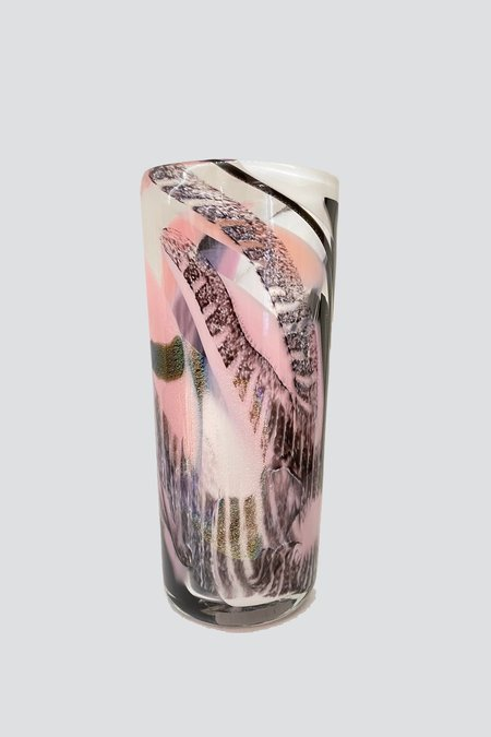 Sirius Glassworks Flamant Discotheque Vase