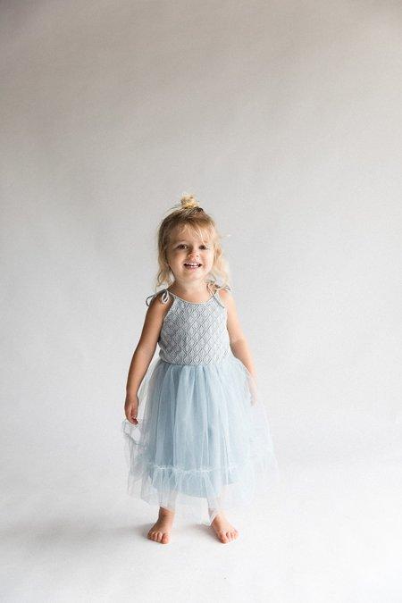 Kids Raised By Water Elle Dress - Elsa Blue
