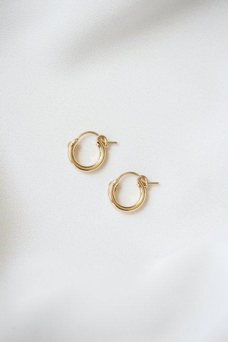 Metrix Jewelry Huggie Hoops - Gold