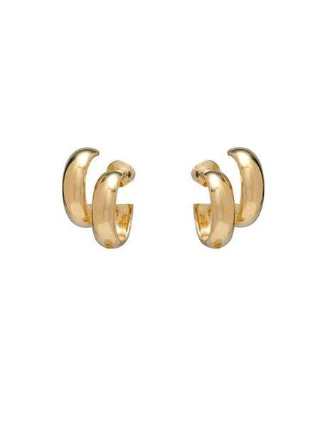 LADY GREY JEWELRY Stack Hoops Earrings