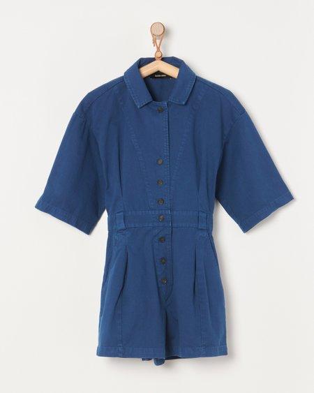 Rachel Comey Larch Shortsuit - Blue