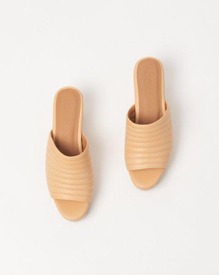 Beklina Ribbed Open Toe Clog - Pretzel