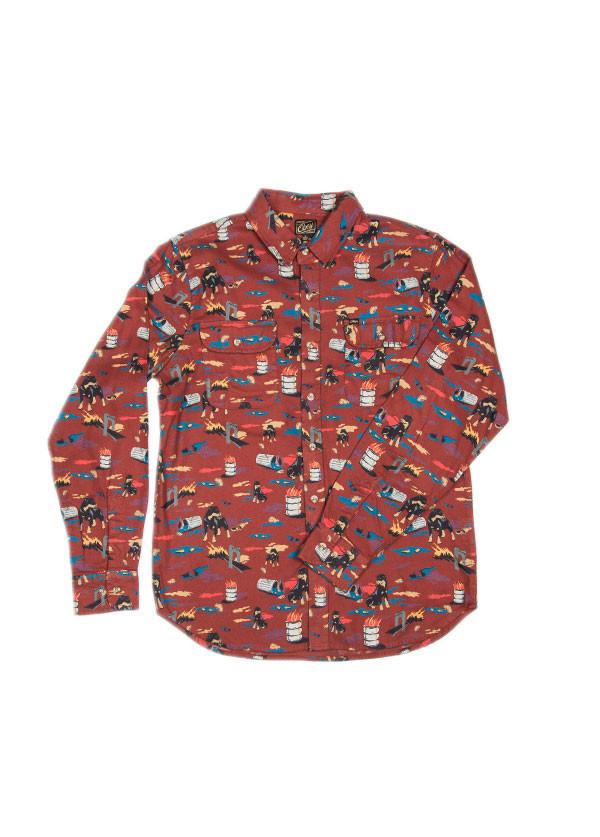 Men's Obey  City Hunt Shirt