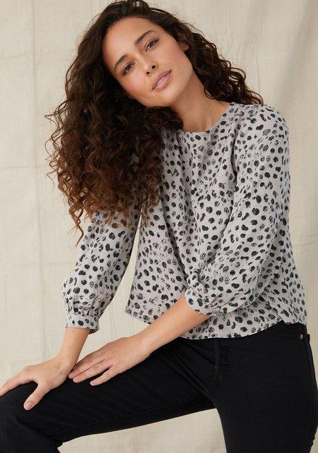 Bella Dahl Bishop Sleeve Pullover - Ivy Dot