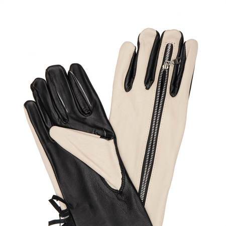 YOUTHS IN BALACLAVA Gloves - White/Black