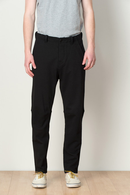 Wings + Horns Washed Terry Field Pant In Black