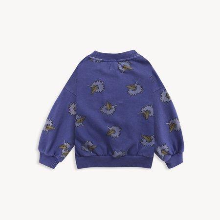 kids unisex Bobo Choses Birdie Sweatshirt - Royal Blue