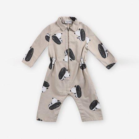 kids unisex Doggie Baby Coveralls - Rainy Day