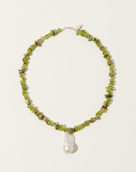 SANTANGELO Kitano Necklace - Green