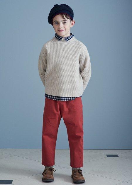 Kids Caramel Leda Trousers - Punch Twill
