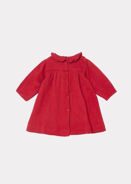 Kids Caramel Oda Baby Dress - Red Current