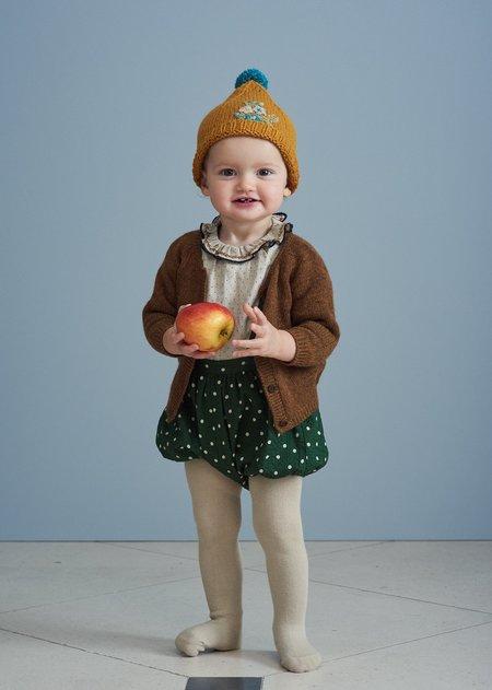 Kids Caramel Pare Baby Romper - Evergreen Spot