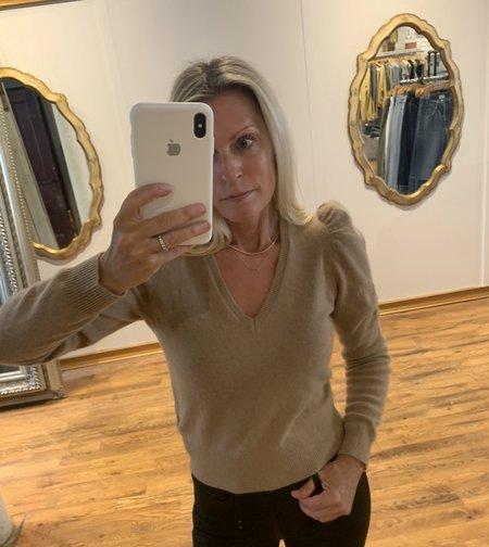 FRAME Denim Frankie Sweater - Cafe Au Lait
