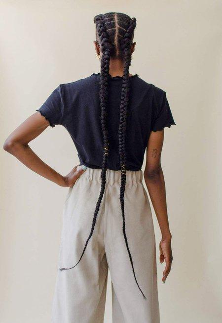 Nin Studio Swirl T-shirt - Black