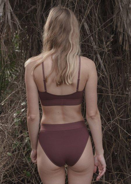 Baserange Soft Bra - Ter Purple