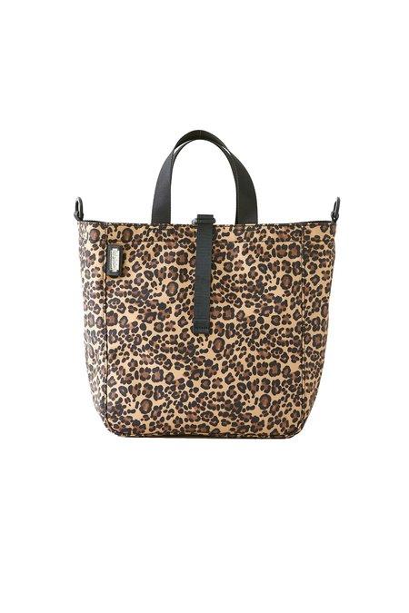 Lambertson Truex Medium Harrison Tote NYLON SPORT Bag - Leopard