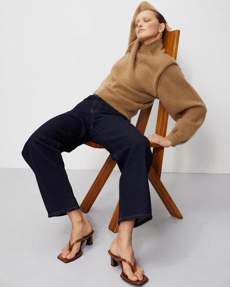 ROHE Palle Sweater - Camel