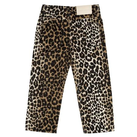 KIDS maed for mini jeans - leopard